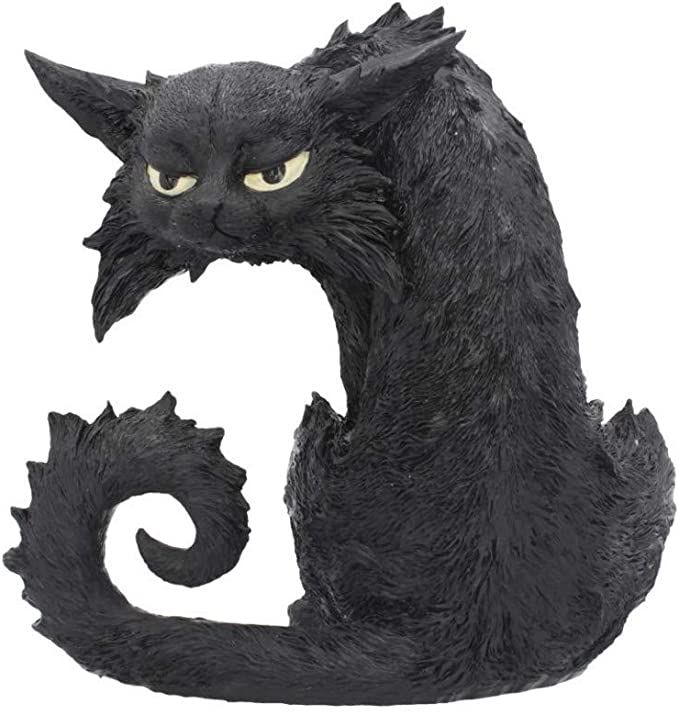 Large Black Cat - Spite