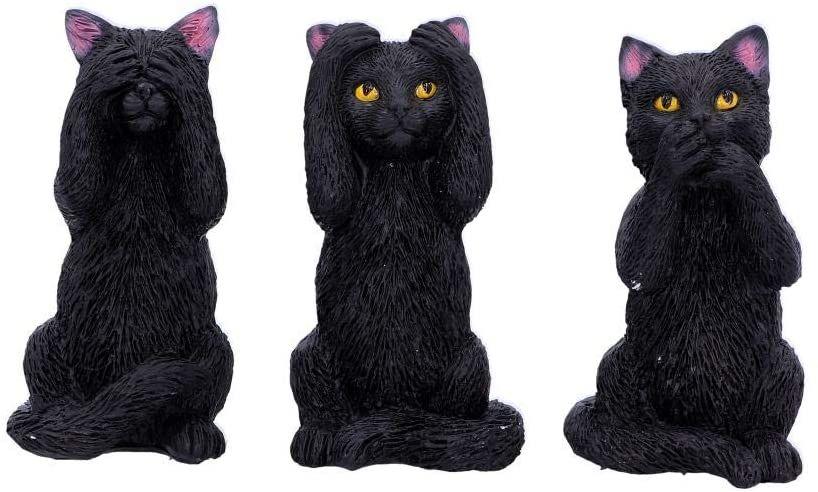 3 Wise Felines