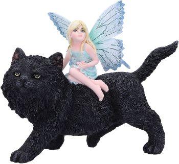 Feline Freedom Black Cat & Fairy
