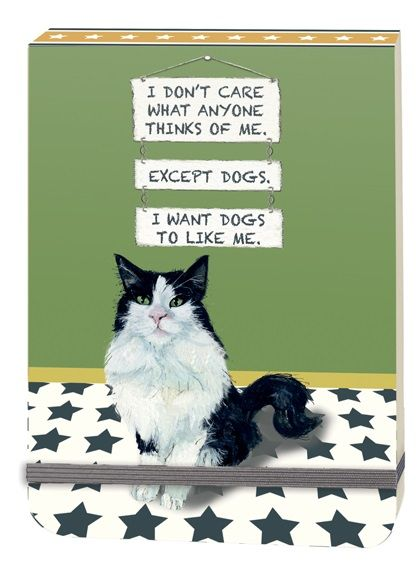 A6 Note Pad - I Want Dogs To Like Me