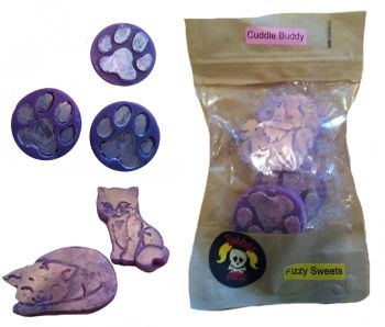Bubbas Meltys - Cuddle Buddy - Pack of 5 Fizzy Sweets Scented Wax Melts