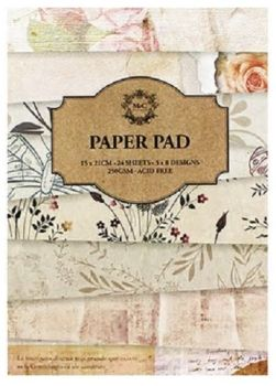 24 Sheet pad - Textured Paper Pad