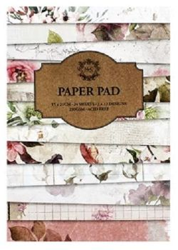 24 Sheet pad - Florals Paper Pad