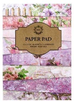 24 Sheet pad - Pink Paper Pad