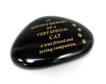 Cat Memorial Pebble Stone