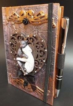 A6 Note Book & Pen - Cuddle Cats
