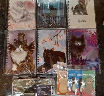 Magic Cat Notebooks Bundle 5 (Ophelia Pencil Tin)