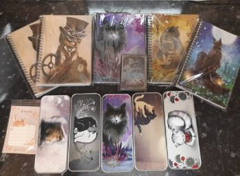 Magic Cat Notebooks Bundle 6 (5 x pencil tins)