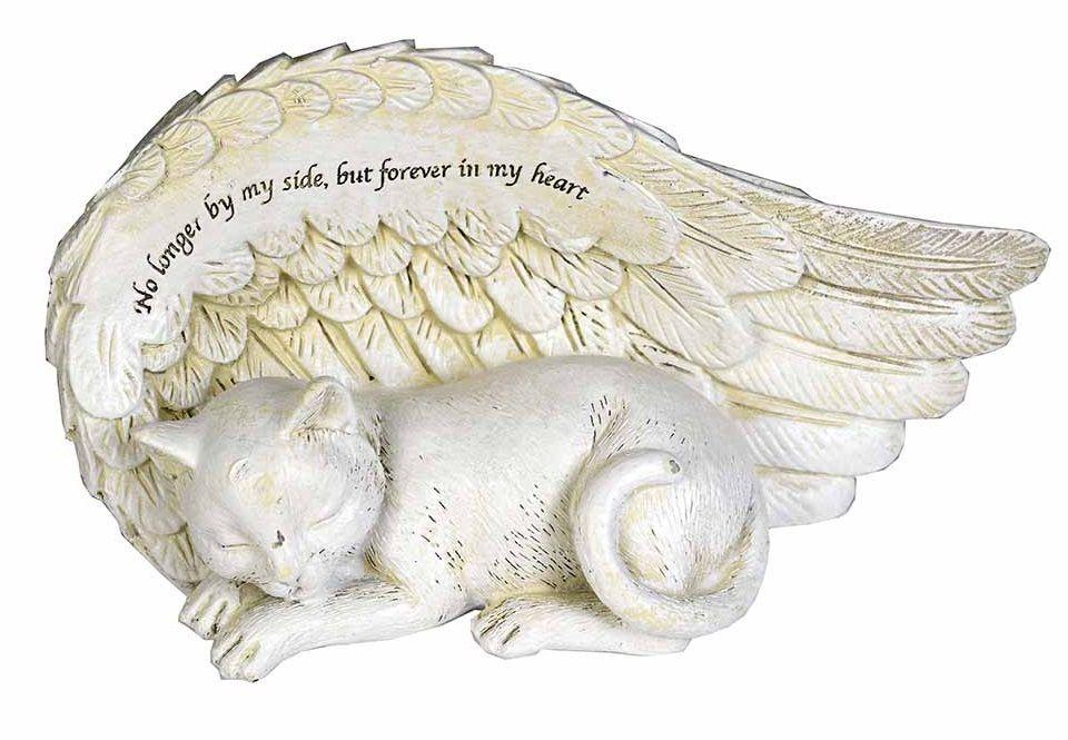 Cat Angel Lying Protecting