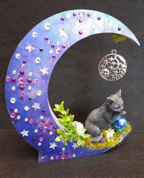 Black Cat On Moon - C WAS £17.50