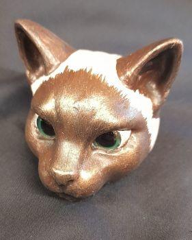 Cat Head - Siamese