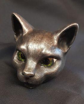 Cat Head - Black Cat