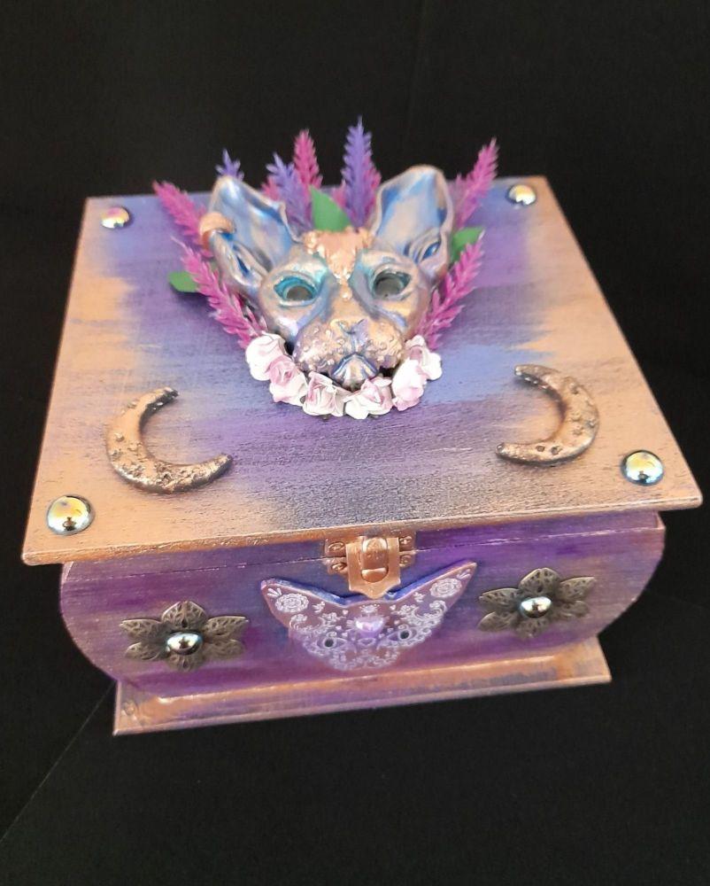 Mystic Sphinx Cat Chest - CMD038