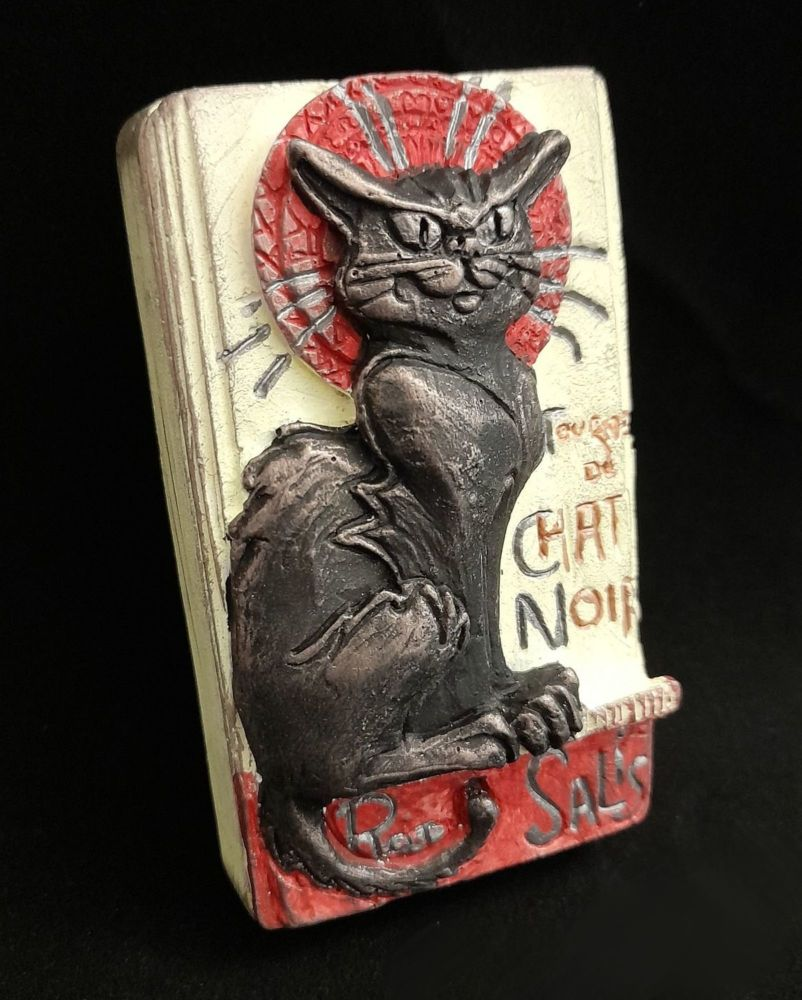 Chat Noir Small Wall Plaque