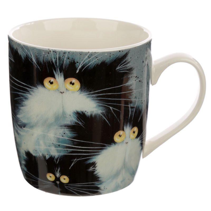 Kim Haskins Cats Porcelain Mug