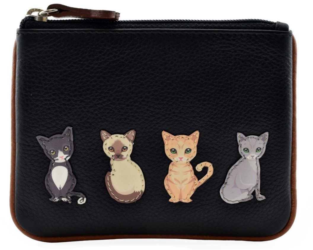 Best Friends Sitting Cats Coin & Card Purse - RFID