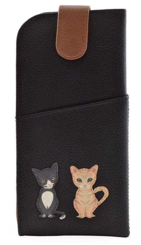Best Friends Sitting Cats Glasses Case