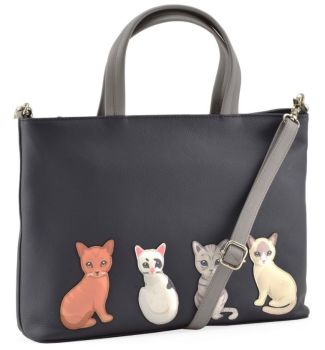 Mala Leather - Best Friends Sitting Cats Grab Bag