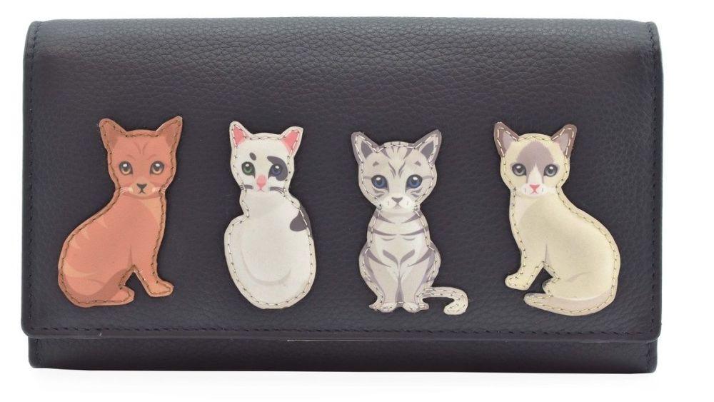 Best Friends Sitting Cats Matinee Purse - RFID