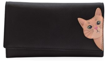 Mala Leather - Cleo the Cat Matinee Purse - RFID