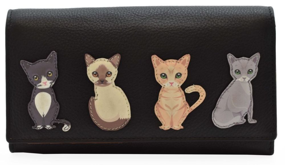 Best Friends Sitting Cats - Flap Over Purse - 352865