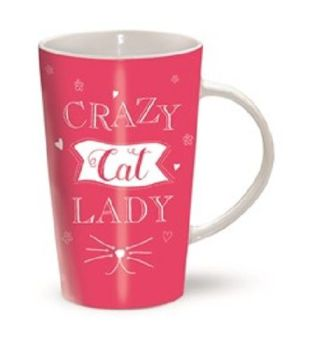 Crazy Cat Lady Latte Mug