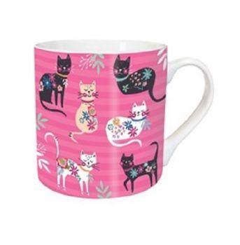 Tarka Mugs - Cat Print