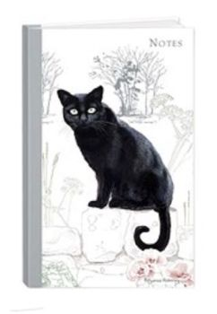 Pollyanna Pickering Stationery - Hardcover Notebook (A5 - Cat)