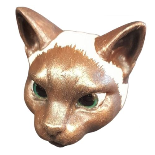 Cat Head - Siamese