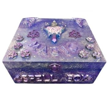 Large Wooden Box - Mgic Spell Box