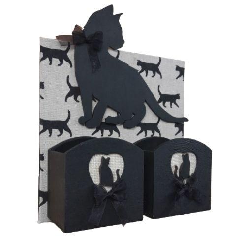 Black Cat Wall Tidy