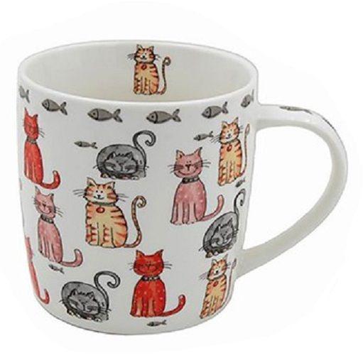 Faithful Friends - Multi Cat Mug
