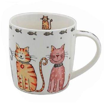 Faithful Friends - Single Cats Mug