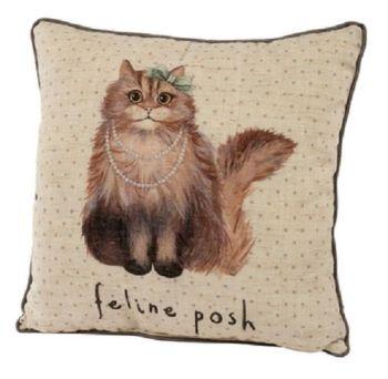 Feline Posh Cushion