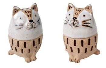 Chubby Cats Salt & Pepper Pots