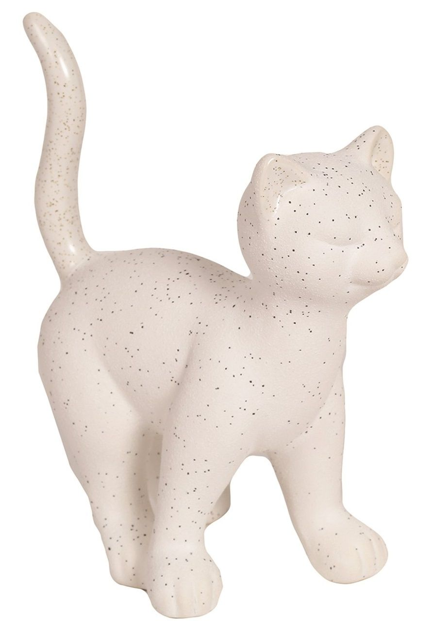 26557 - White Standing Cat Figurine (Looking Right)