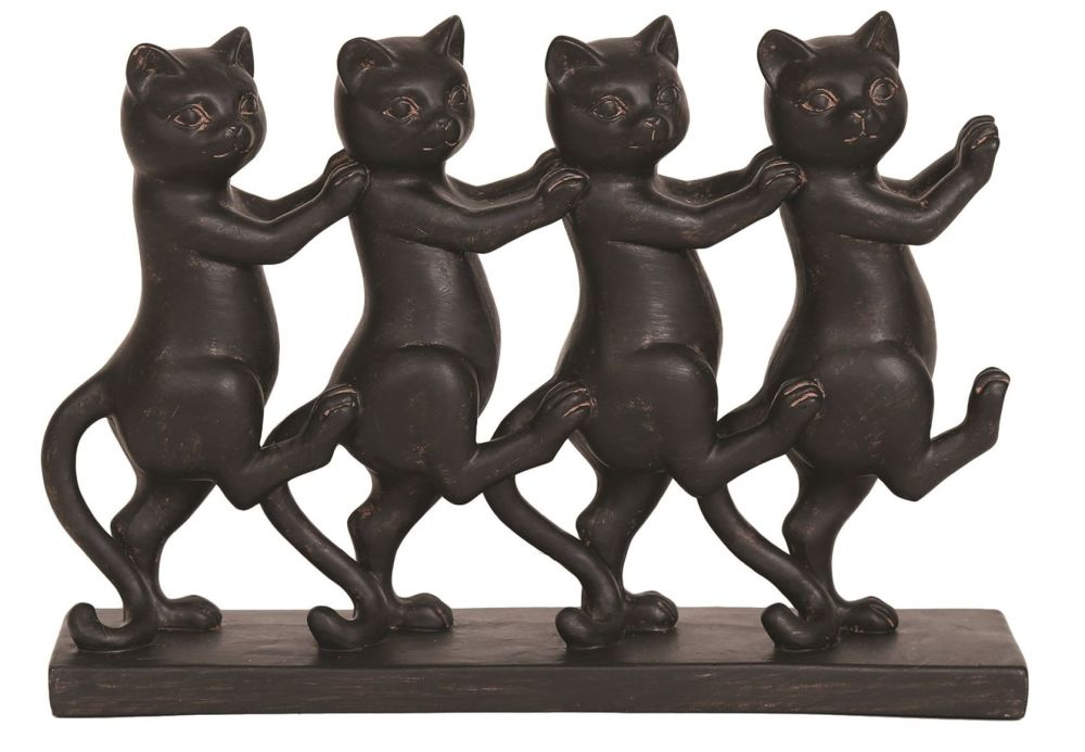 28047 - Dancing Black Cats