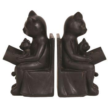 28050 - Black Cat & Kitten Bookends