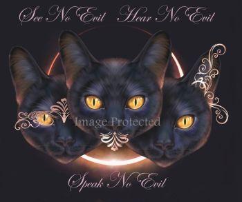 See No Evil, Speak No Evil, Hear No Evil -  A4/A3