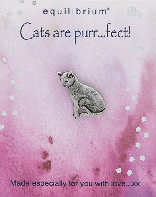 Natural World Pin - Cats are Purr-fect