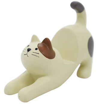 Calico Cat Chunky Mobile Phone Holder