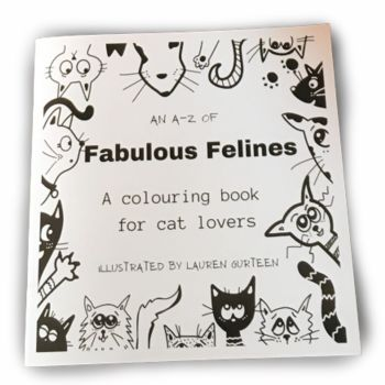 An A-Z of Fabulous Felines Colouring Book