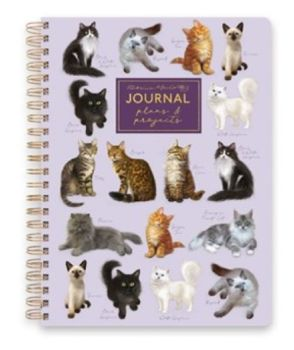 Cats Wiro Notebook With Dividers A5