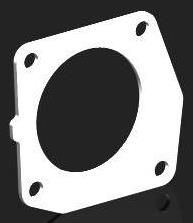 TOYOTA MR2, CELICA THERMAL THROTTLE BODY GASKET - TB110