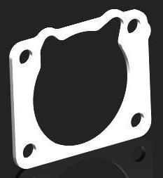 TOYOTA SUPRA 7MGE THERMAL THROTTLE BODY GASKET - TB125