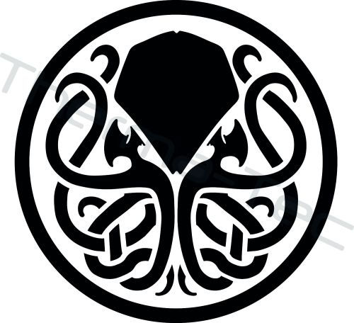 Cthulhu Mythos symbol vinyl decal