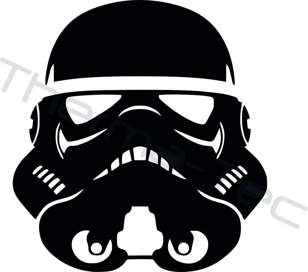 Star Wars Stormtrooper vinyl decal