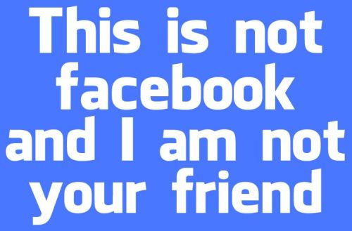 This is NOT Facebook