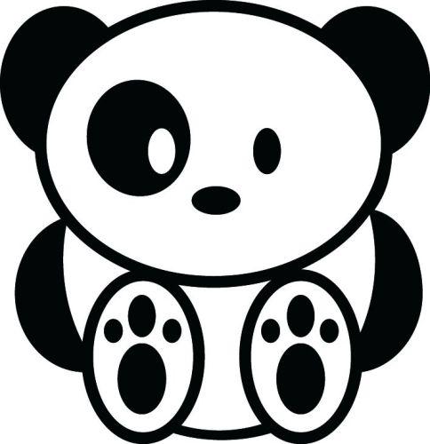 JDM Panda Vinyl Decal