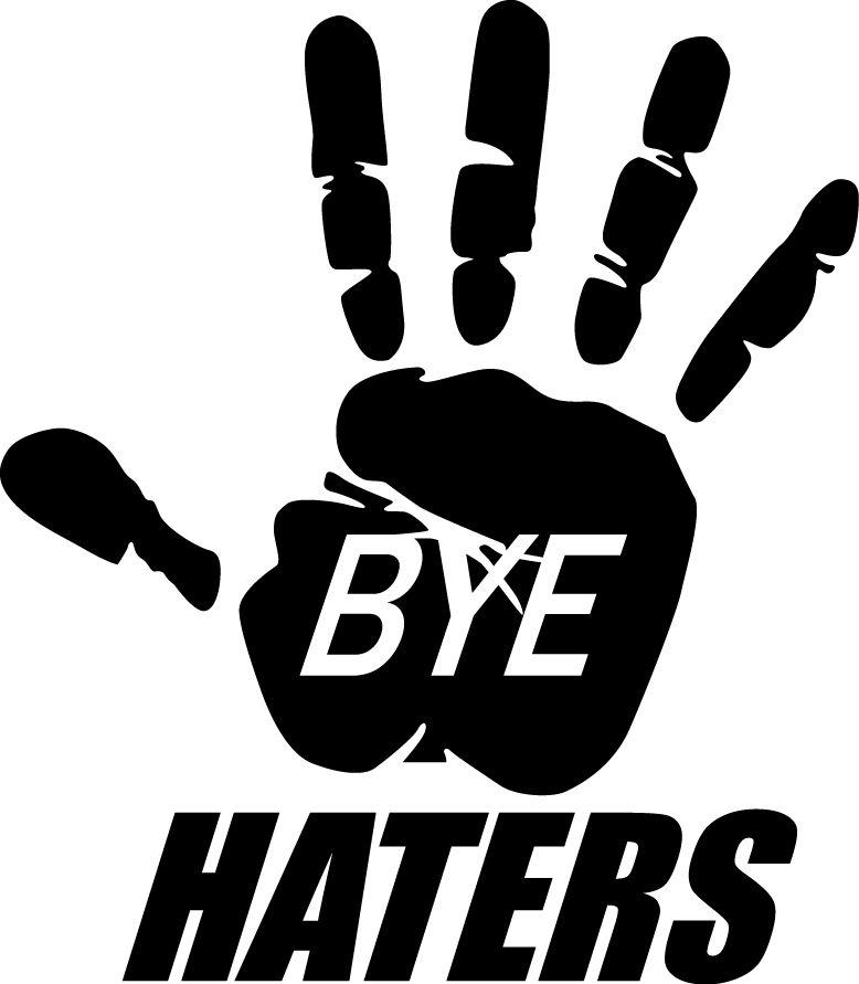 JDM BYE HATERS VINYL DECAL